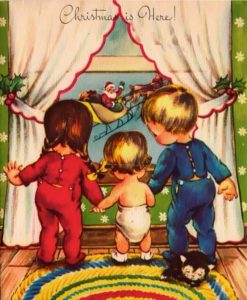 Pitala su me deca o Deda Mrazu